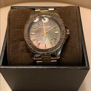 Women's Michael Kors gold watch